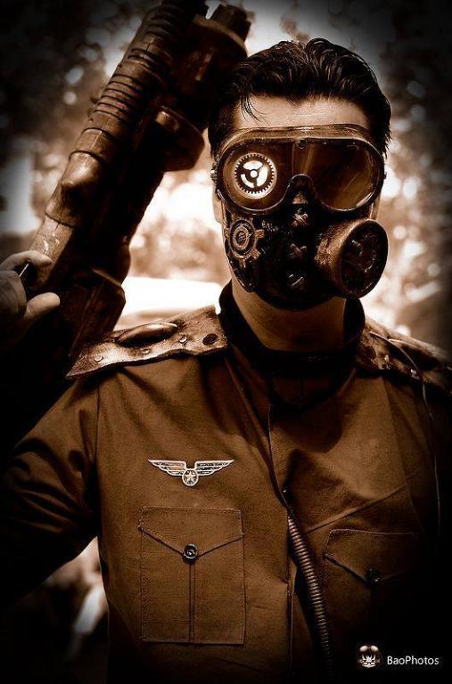 Militaire Steampunk