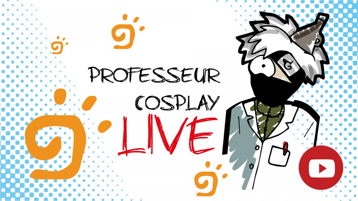 Prof cosplay live